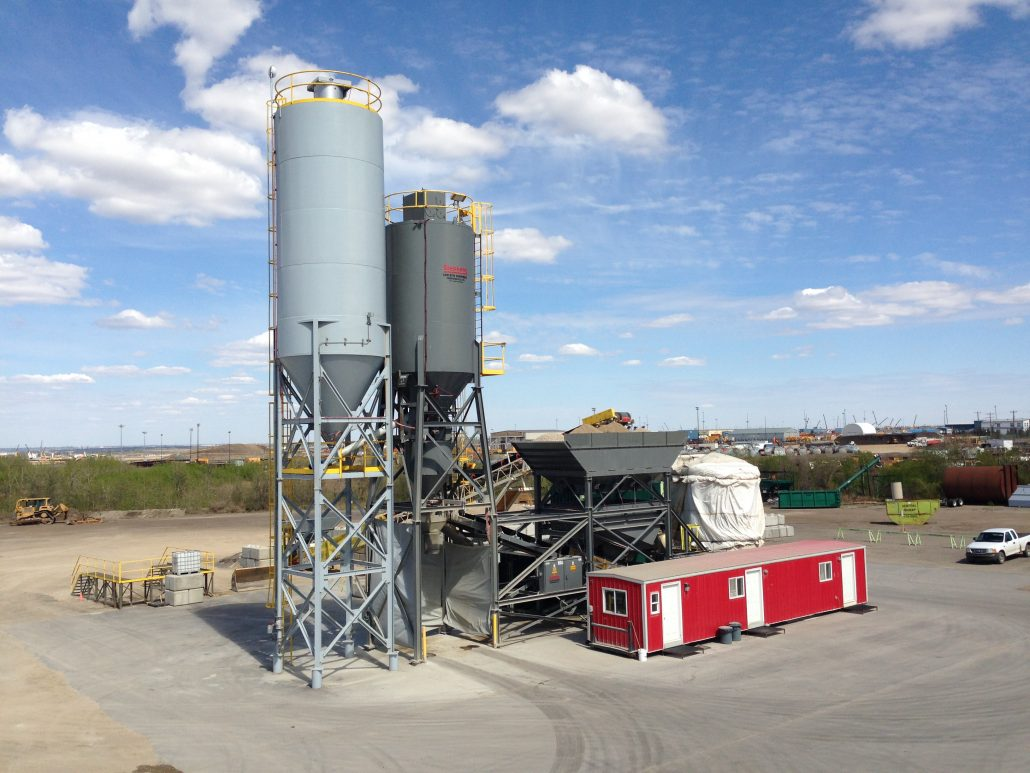 Cement Ready Mix Plant : Ready mix concrete prm park paving ltd