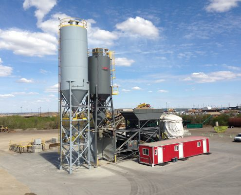 ready-mix concrete plant